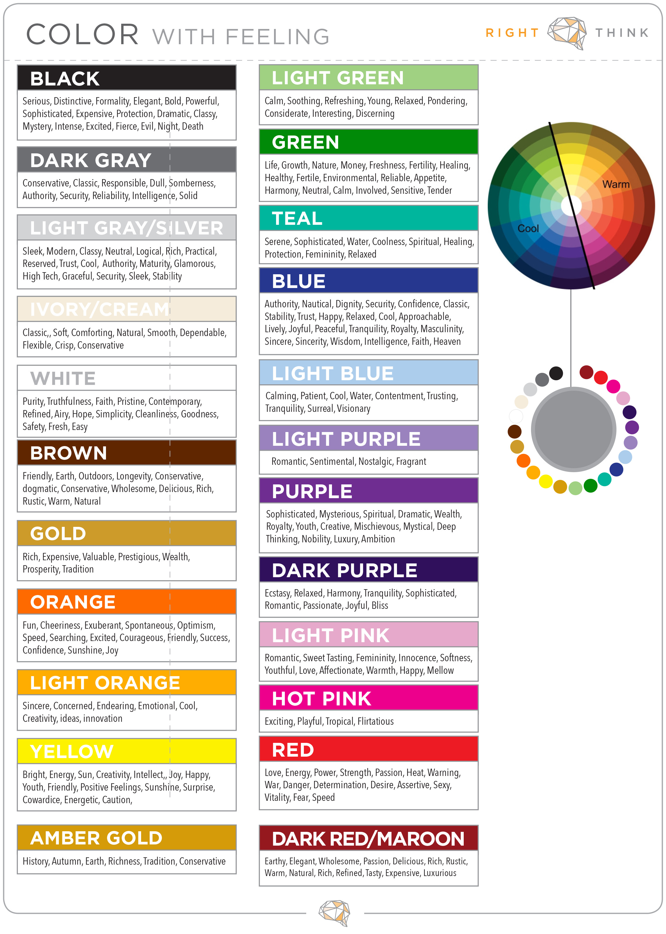 using color to get your business noticed right think blog